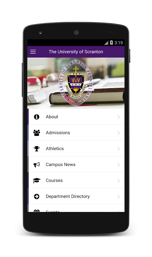 The University of Scranton- screenshot
