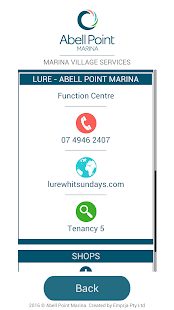 Abell Point Marina E-concierge- screenshot thumbnail