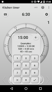 Kitchen Timer Screenshot