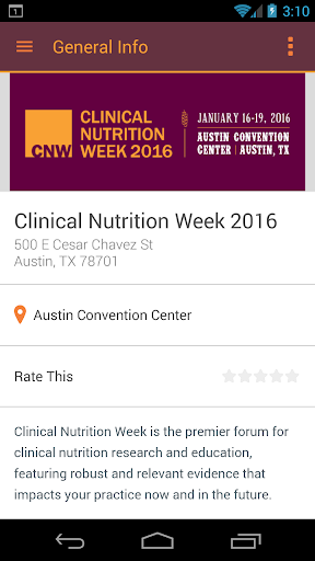 Clinical Nutrition Week