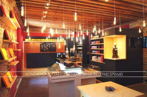 Thiết kế cửa hàng socola 6