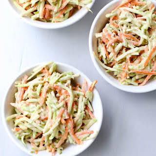 Broccoli Salad with Honey-Tahini Dressing.