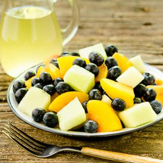 Summer Fruit Salad with Ginger-Lime Dressing