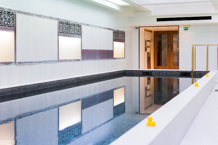 Luxury pool at Town Hall Hotel & Apartments