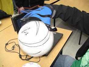 Photo: Polyurethane gloves -- super sticky FTW!