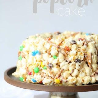 Creative Popcorn Cake