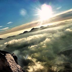 Shine by Donny Novianus - Landscapes Mountains & Hills