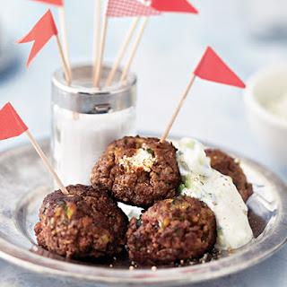 Lamb Meatballs with Tzatziki Dip