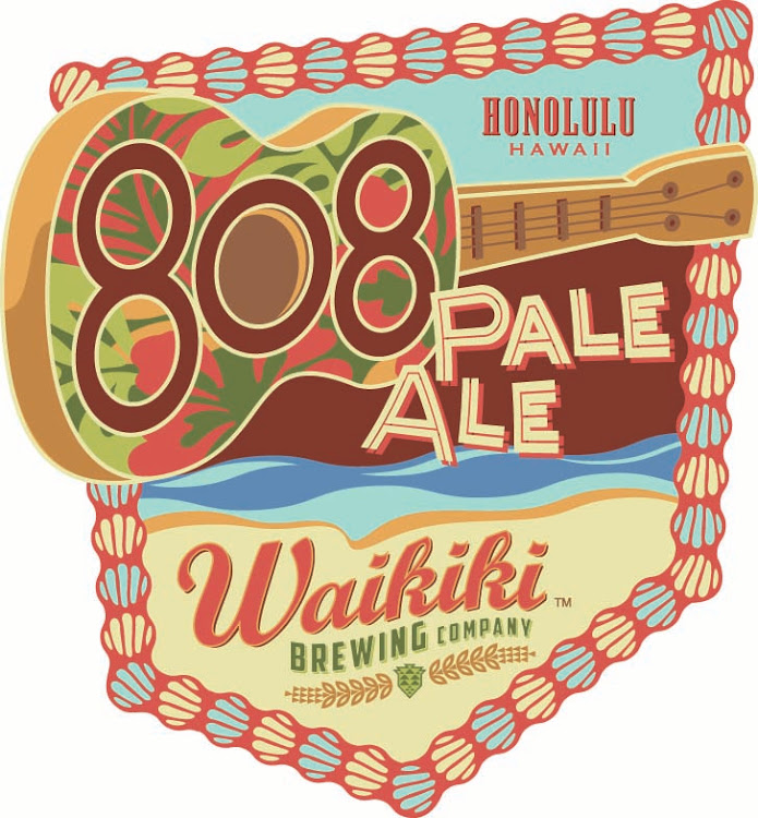 Logo of Waikiki 808 Pale Ale