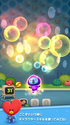 LINE ハローBT21 BT21顔のバブルがパンパン!爽快パズルゲーム!のおすすめ画像5
