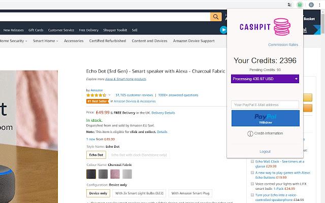Cashpit - Cashback for Amazon