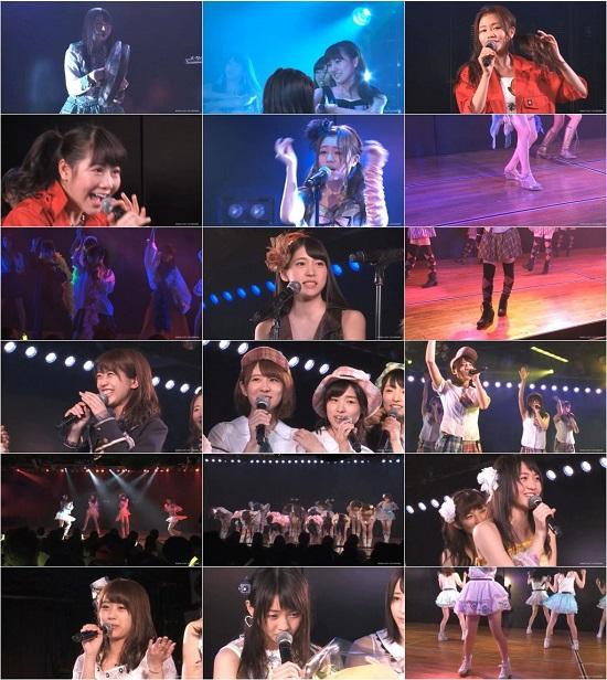 """(LIVE)(公演) AKB48 チーム4 """"アイドルの夜明け"""" 千秋楽公演 150824"""