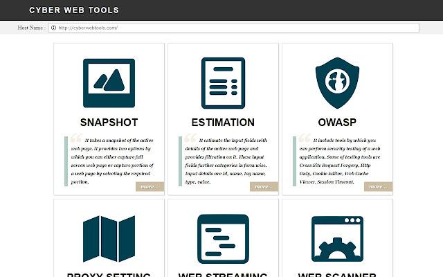 Cyber Web Tools