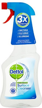 Dettol Original Antibacterial Surface Cleanser Spray - 500ml