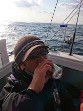 Photo: 早速、祝杯!・・・って、ずっと飲んでるやん!