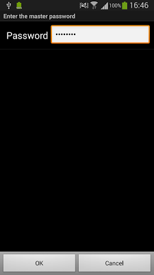 Password - screenshot