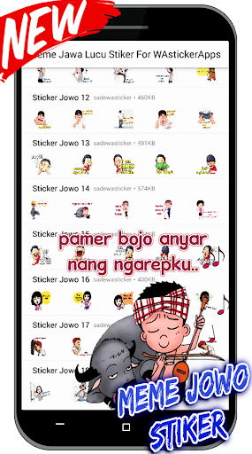 Meme Jawa Lucu Stiker For WAstickerApps screenshot 2