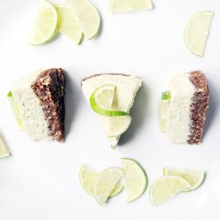 Raw Lime Pie.