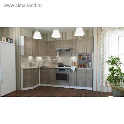 Кухонный гарнитур Лира гранд прайм 2600*1400