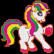 Little Pony Color by Number - Pixel Art No.Color