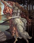 Botticelli,Geburt der Venus, Hore - Botticelli, Birth of Venus, Spring - Botticelli / Naissance Venus
