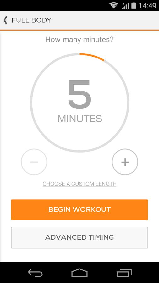 Sworkit Pro - Custom Workouts- screenshot