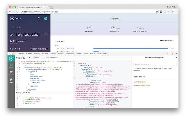 Apollo Client Developer Tools