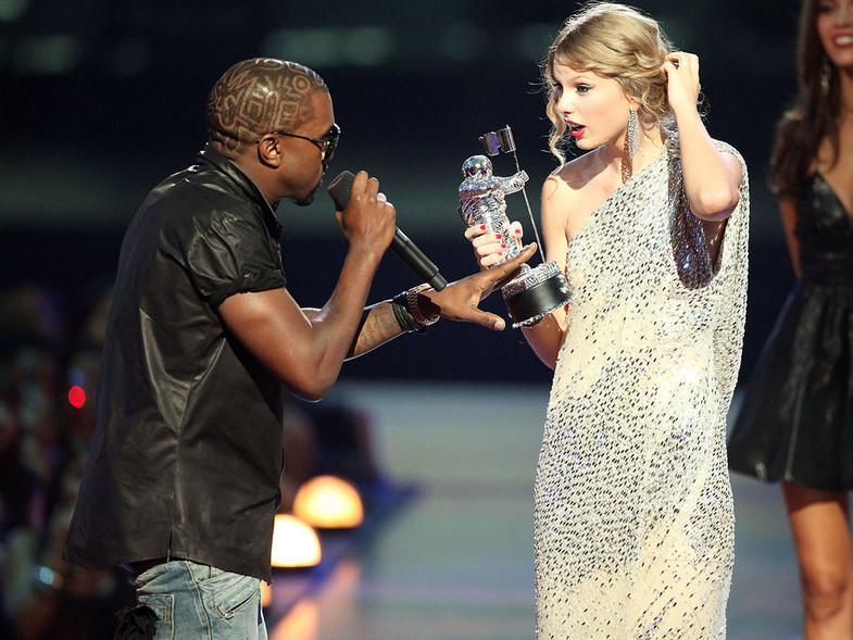 La guerra entre Taylor, Kanye y Kim Kardashian, explicada para principiantes