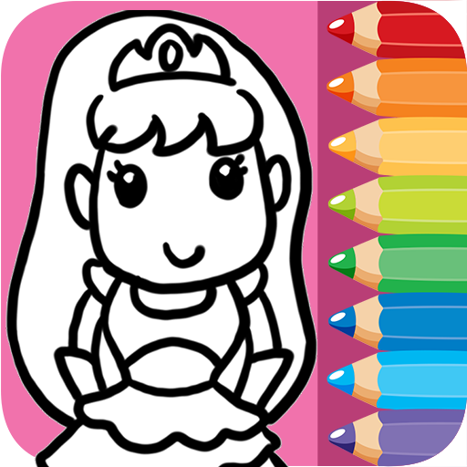 Fairytale Princess Coloring Games