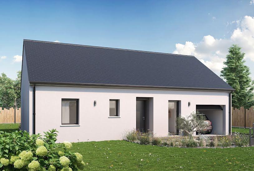 Vente Terrain + Maison - Terrain : 600m² - Maison : 69m² à Sonzay (37360)