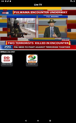 NewsOnAir: Prasar Bharati Official App News+Live 30 Screenshots 12