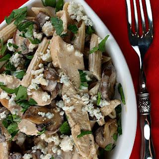 Chicken with Marsala, Mushrooms & Gorgonzola