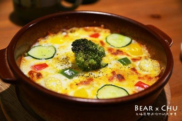 青果果自家烘焙珈琲店‧簡單卻美味的蔬食料理
