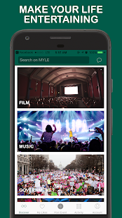 MYLE - Events Curated For You- screenshot thumbnail