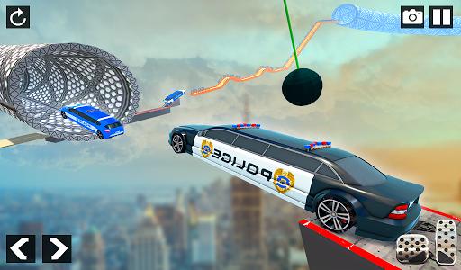 Police Limo Car Stunts - Mega Ramp Car Racing Game android2mod screenshots 10