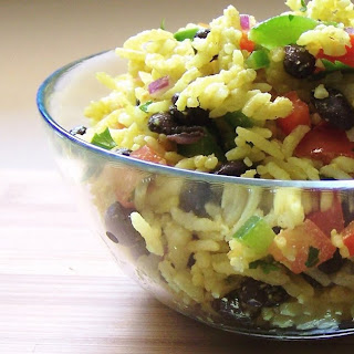 Brazilian Rice Salad.