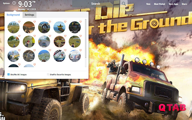 Rules Of Survival New Tab Wallpapers