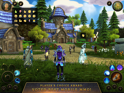 3D MMO Villagers & Heroes 4.40.4 (r53268) screenshots 17