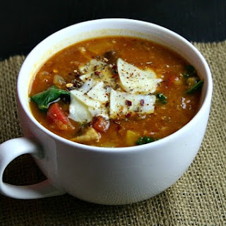 Lentil and Roasted Vegetable Soup