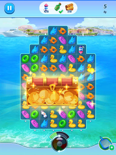 The Love Boat: Puzzle Cruise u2013 Your Match 3 Crush! apkpoly screenshots 16