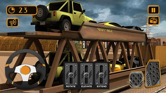 Train Cargo Crane Simulator 3D- screenshot thumbnail