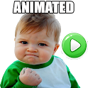 👶 Animated Baby Memes Stickers WAstickerApps icon