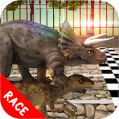 Triceratops Simulator Dinosaur Pet Racing 2017