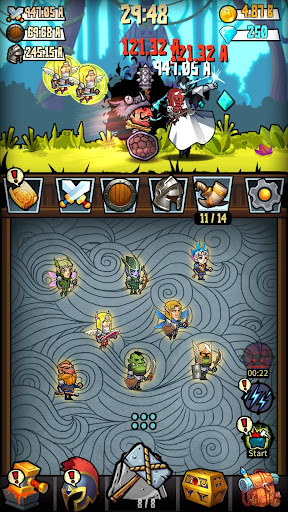 Code Triche Merge And Forge : Idle Weapon Master mod apk screenshots 3