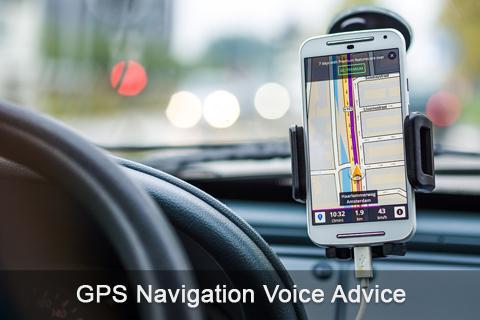 GPS Navigation Voice Advice