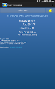 Ocean Temperature & Waves screenshot 7