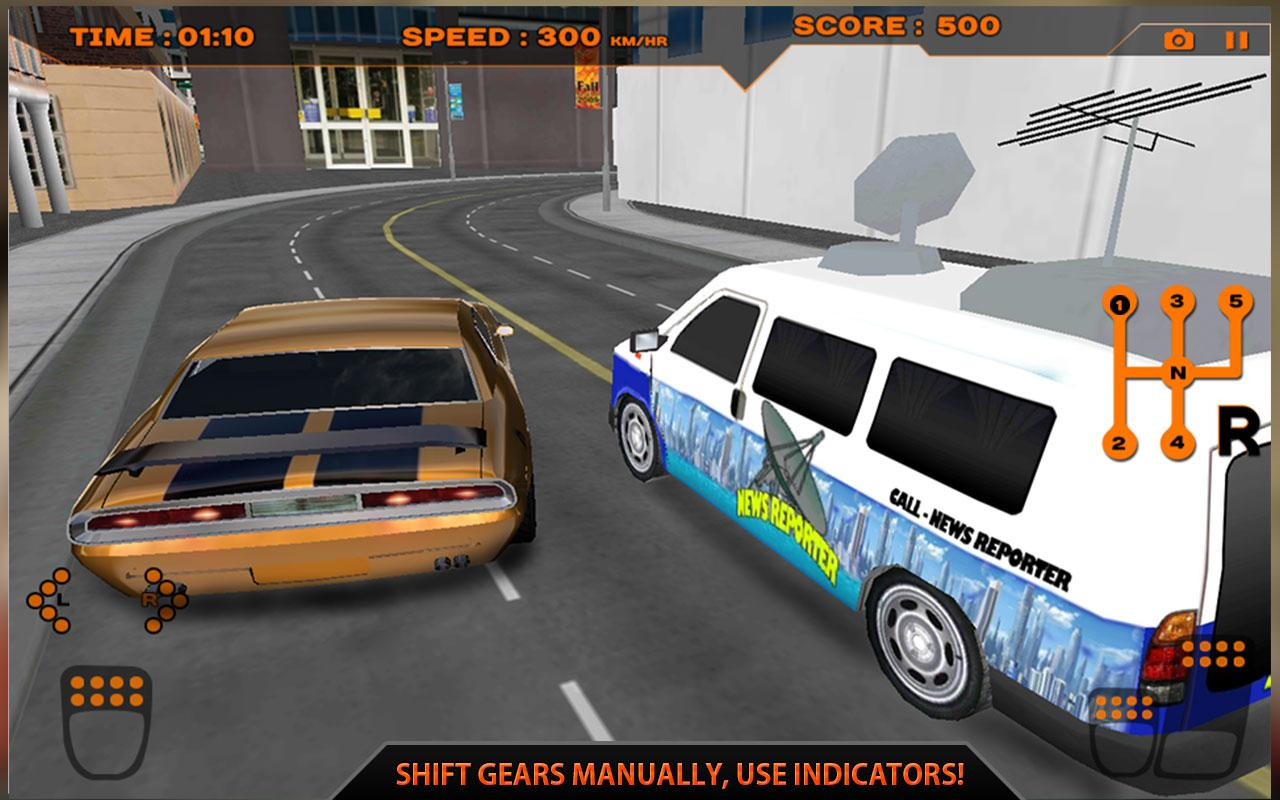 Real manual car simulator 3d screenshot