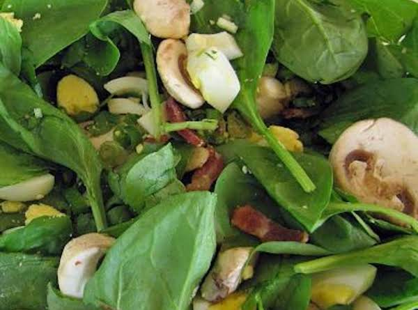 Almost Homemade Spinach Salad