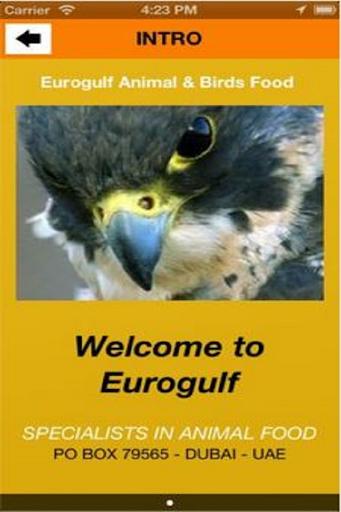 Eurogulf Animal Birds Food