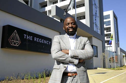 Siyanda Dlamini is the MD and partner of the Regency Apartment Hotel in Menlyn, Pretoria, which opened officially on Sunday.
